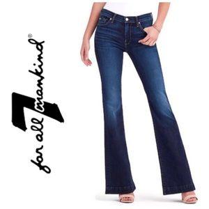 """Signature """"Sevens"""" 7FAMK Dojo Flare Jeans"""